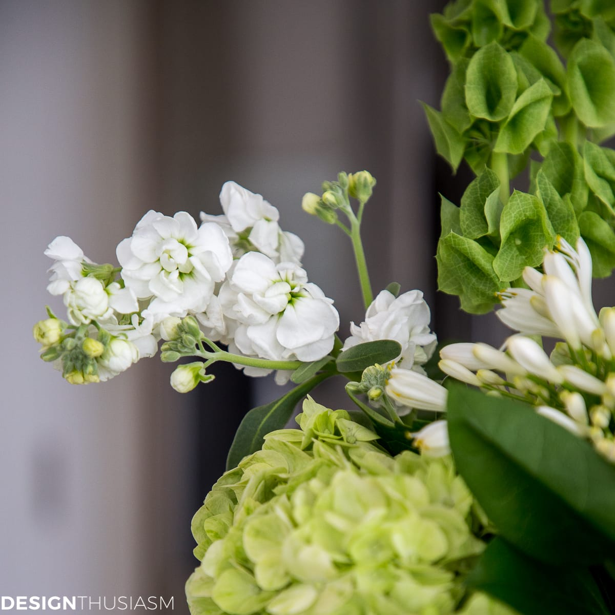 Inviting spring into your home with an arrangement of green flowers welcoming spring with an arrangement of green flowers designthusiasm mightylinksfo Images