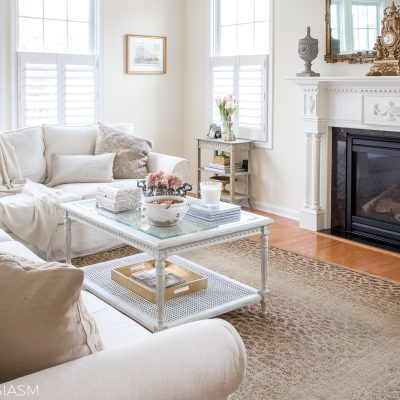 Simple Changes for a Functional, Casually Elegant Family Room