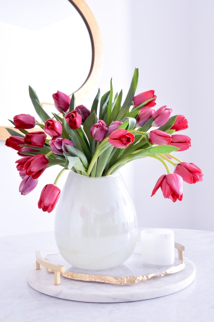 simple easter floral arrangements by decor gold designs