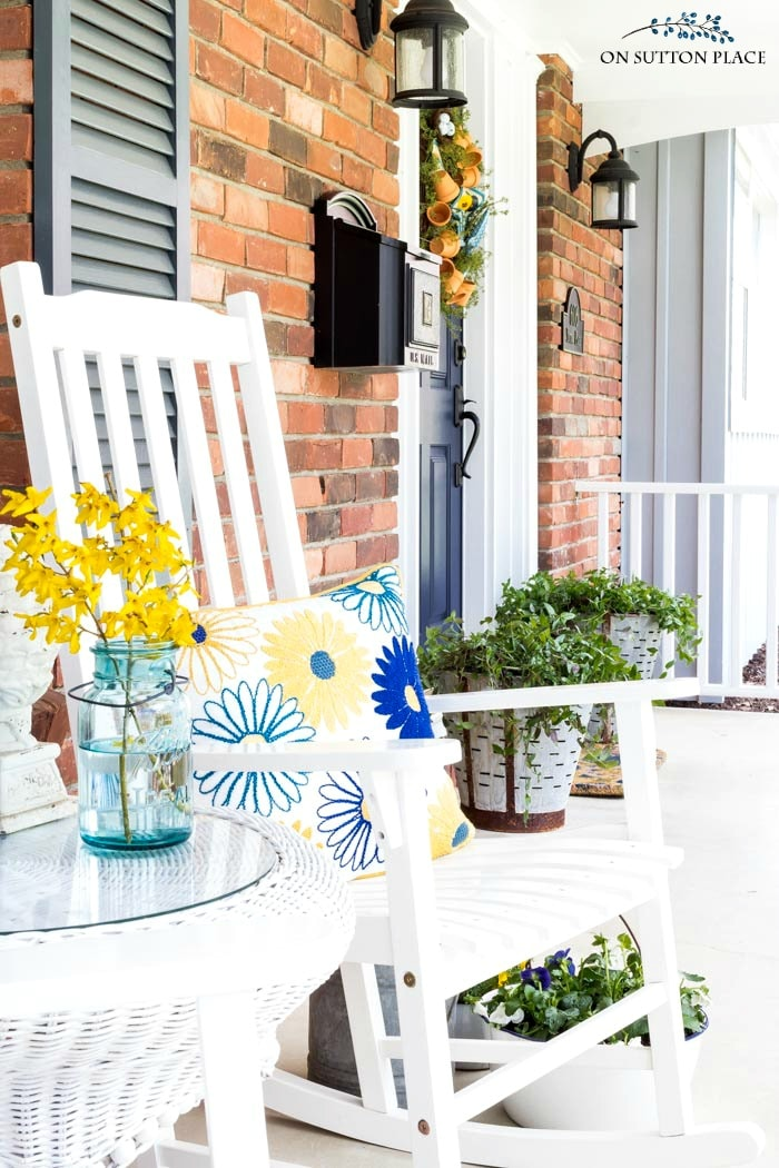 10 Ways to Perk Up Your Porch from On Sutton Place