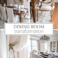 Dining room transformation