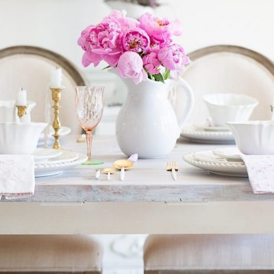 Home Style Saturdays 78   Spring Tables, Printables, Porches and More