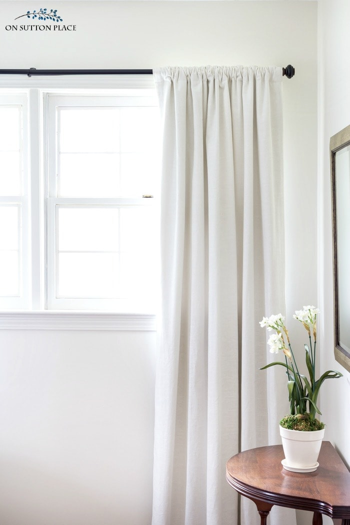 How to Hang Curtains Like A Pro from On Sutton Place