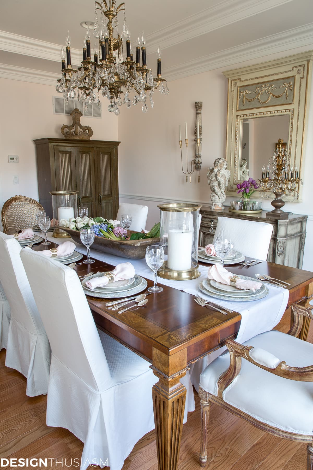 Simple Spring Decorating Ideas for the Dining Room