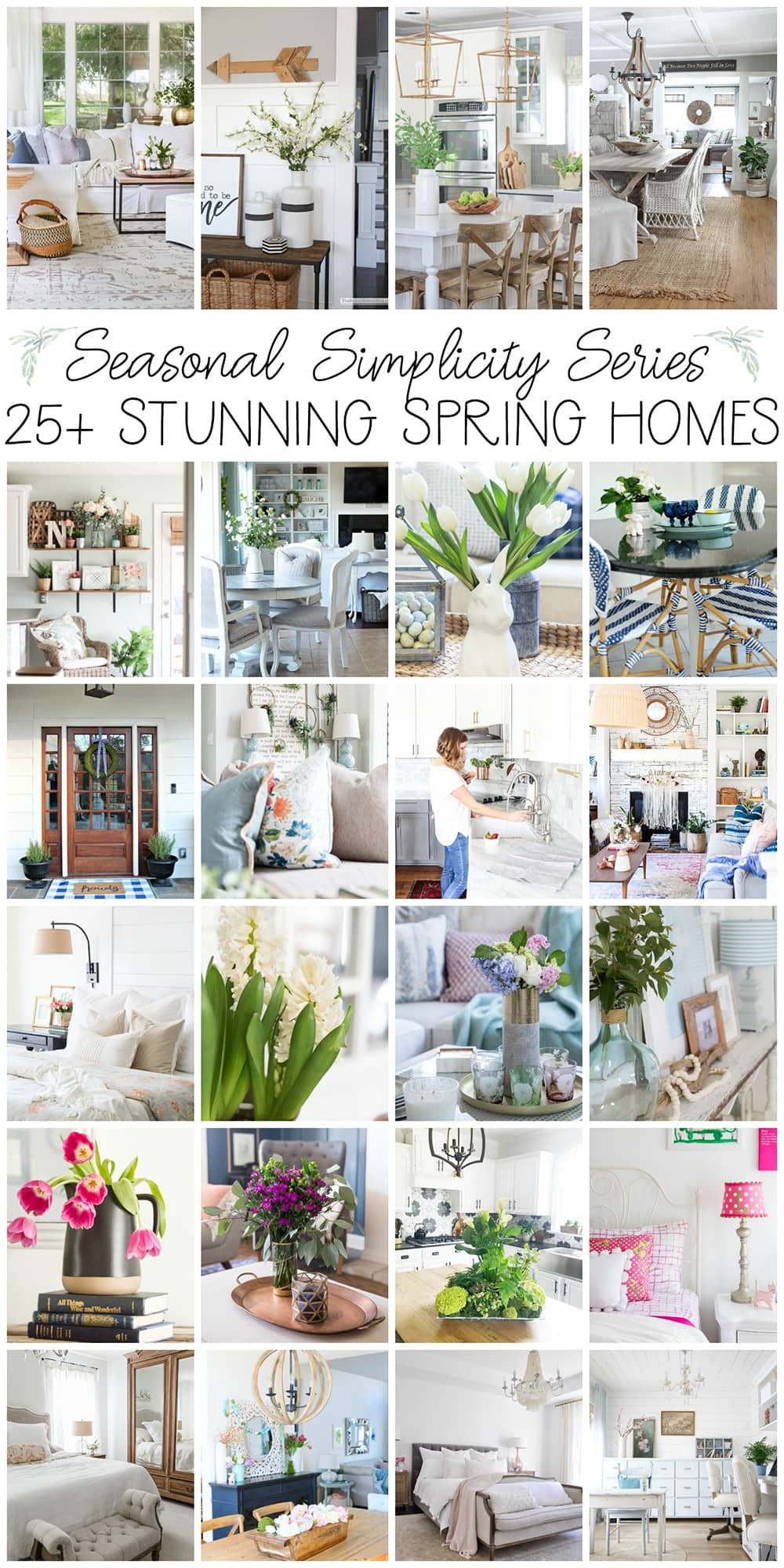 Spring decor home tour