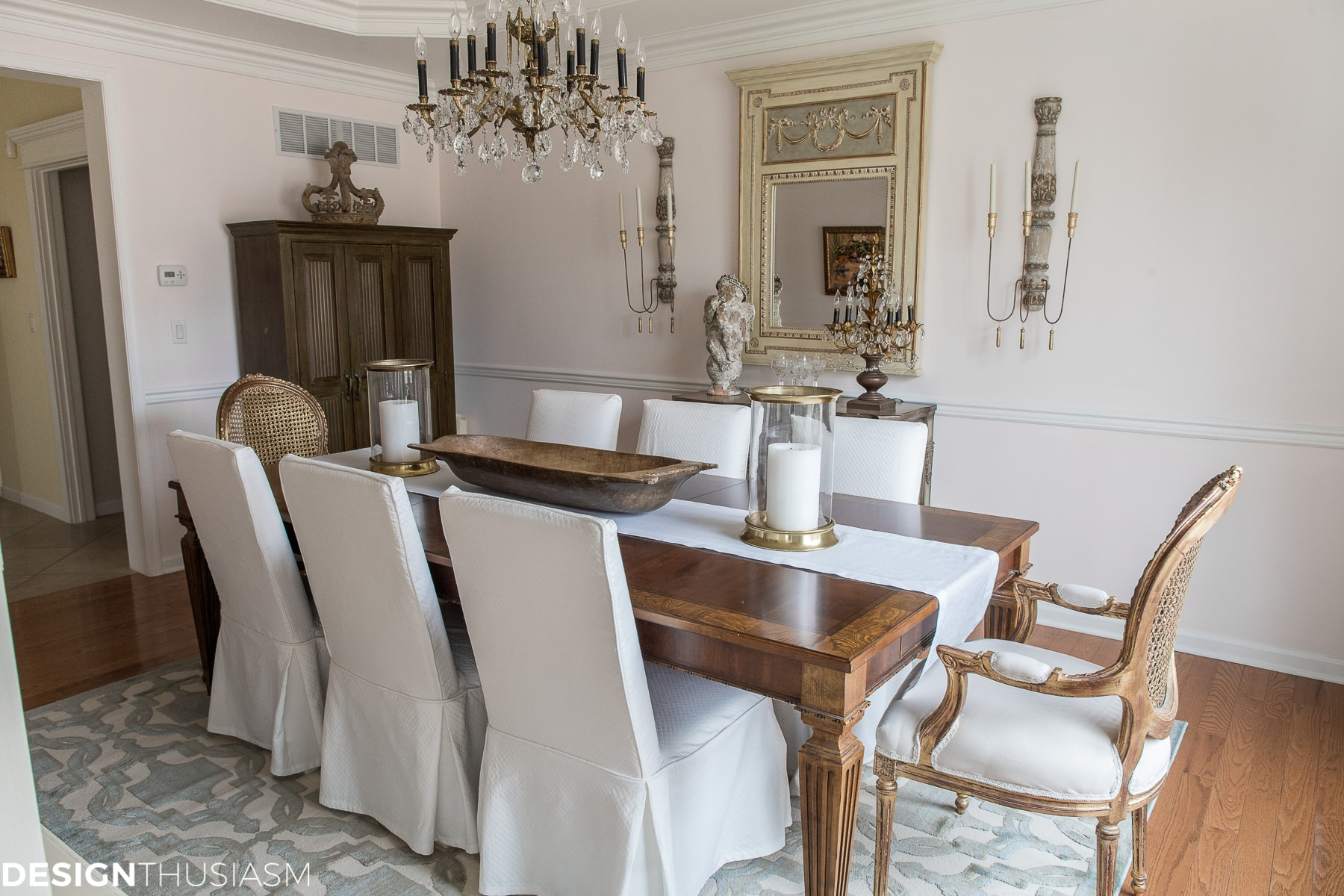 Sensational How I Transformed My Dining Room Without Replacing The Furniture Interior Design Ideas Truasarkarijobsexamcom