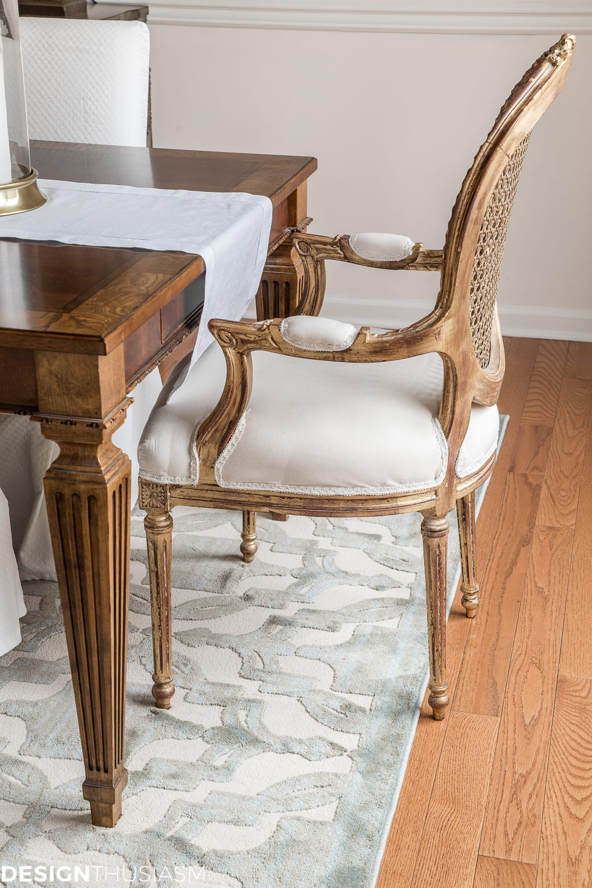 Transforming the dining room with replacing furniture - designthusiasm.com