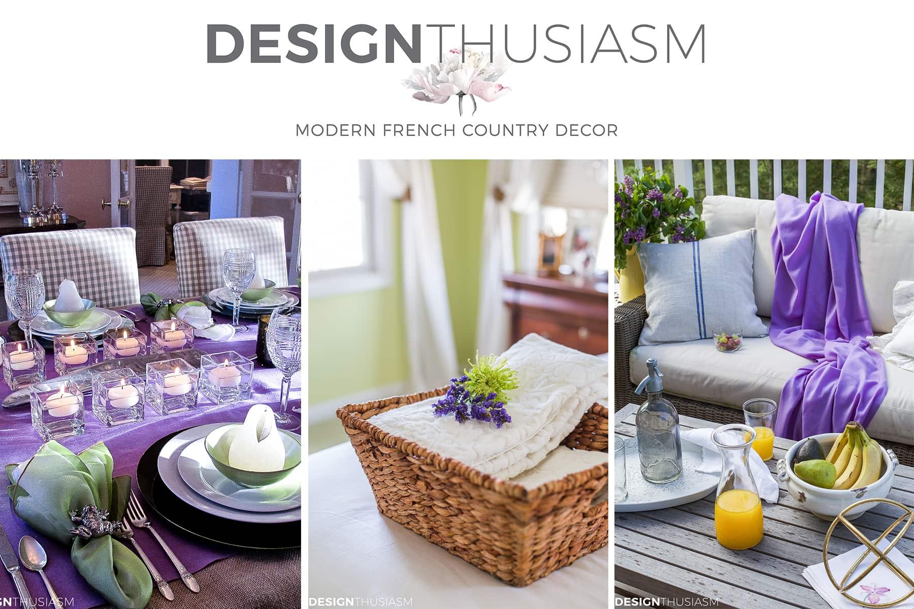 DesignThusiasm | Modern French Country Decor