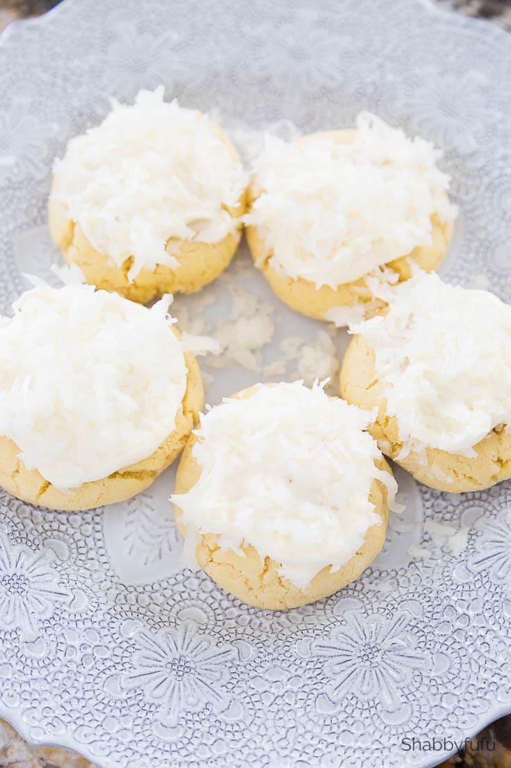 cake mix cookies wedding