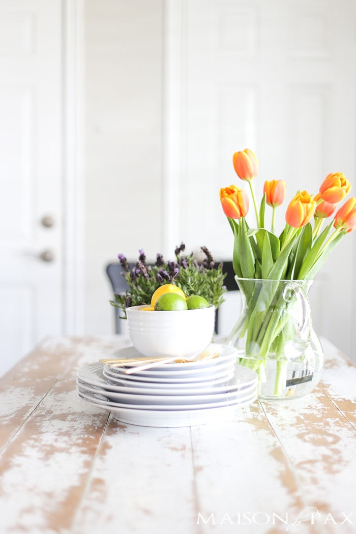 spring kitchen decorating ideas