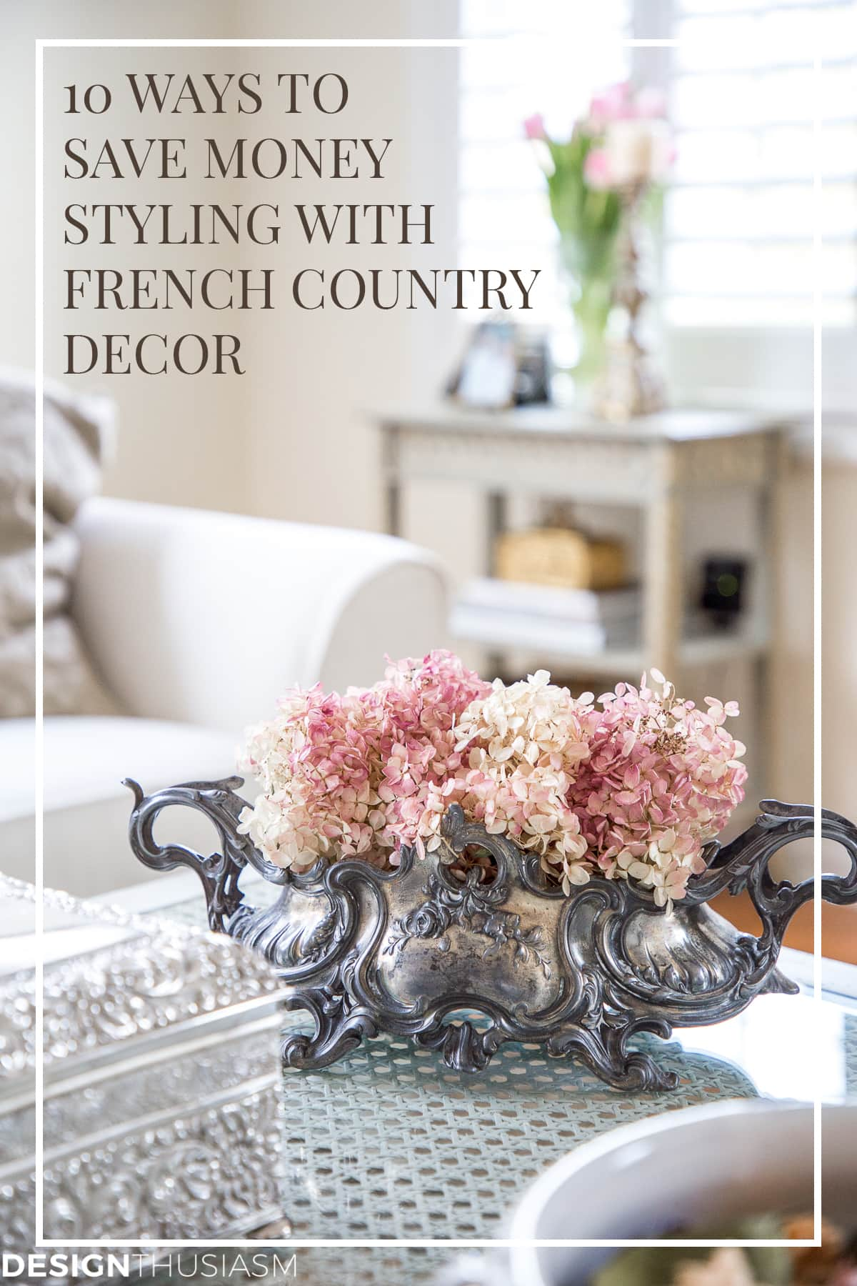 french decor on a budget
