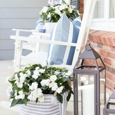 Home Style Saturdays 87 | Porch Ideas, Planters and More