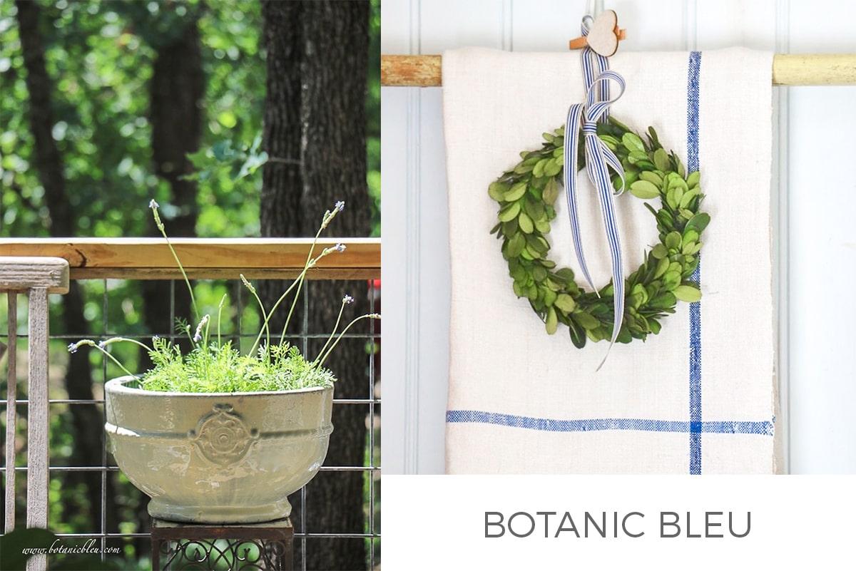 Style Showcase feature Botanic Bleu