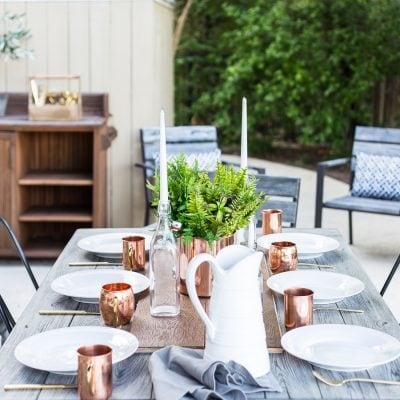 Home Style Saturdays 88 | Outdoor Dining, Garden Flowers and More