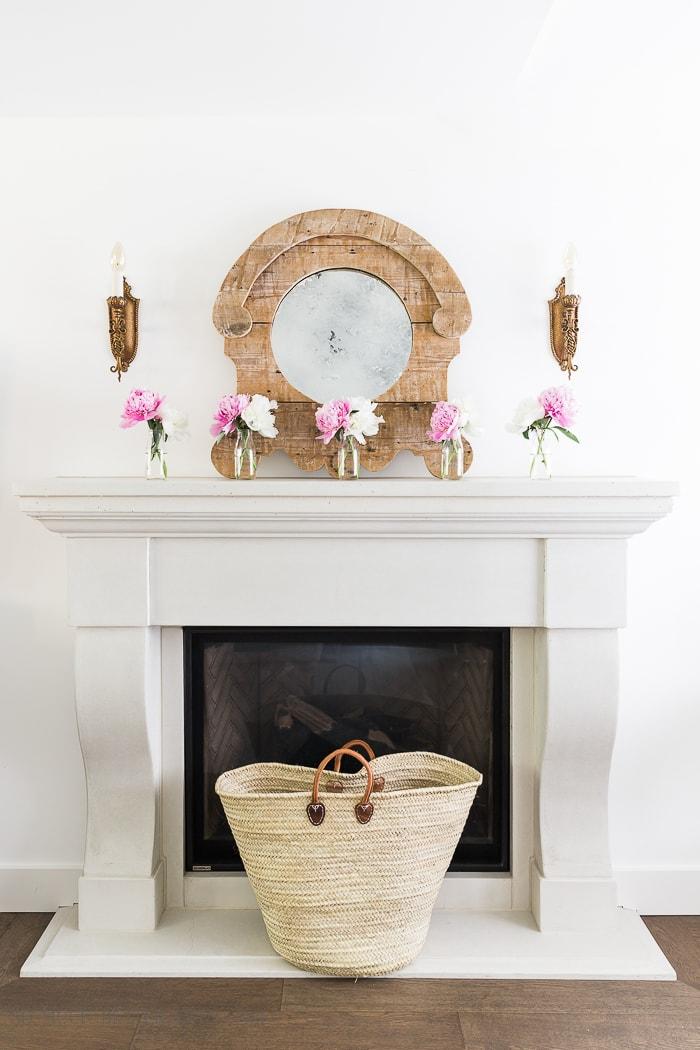 pink-peonies-summer-mantel