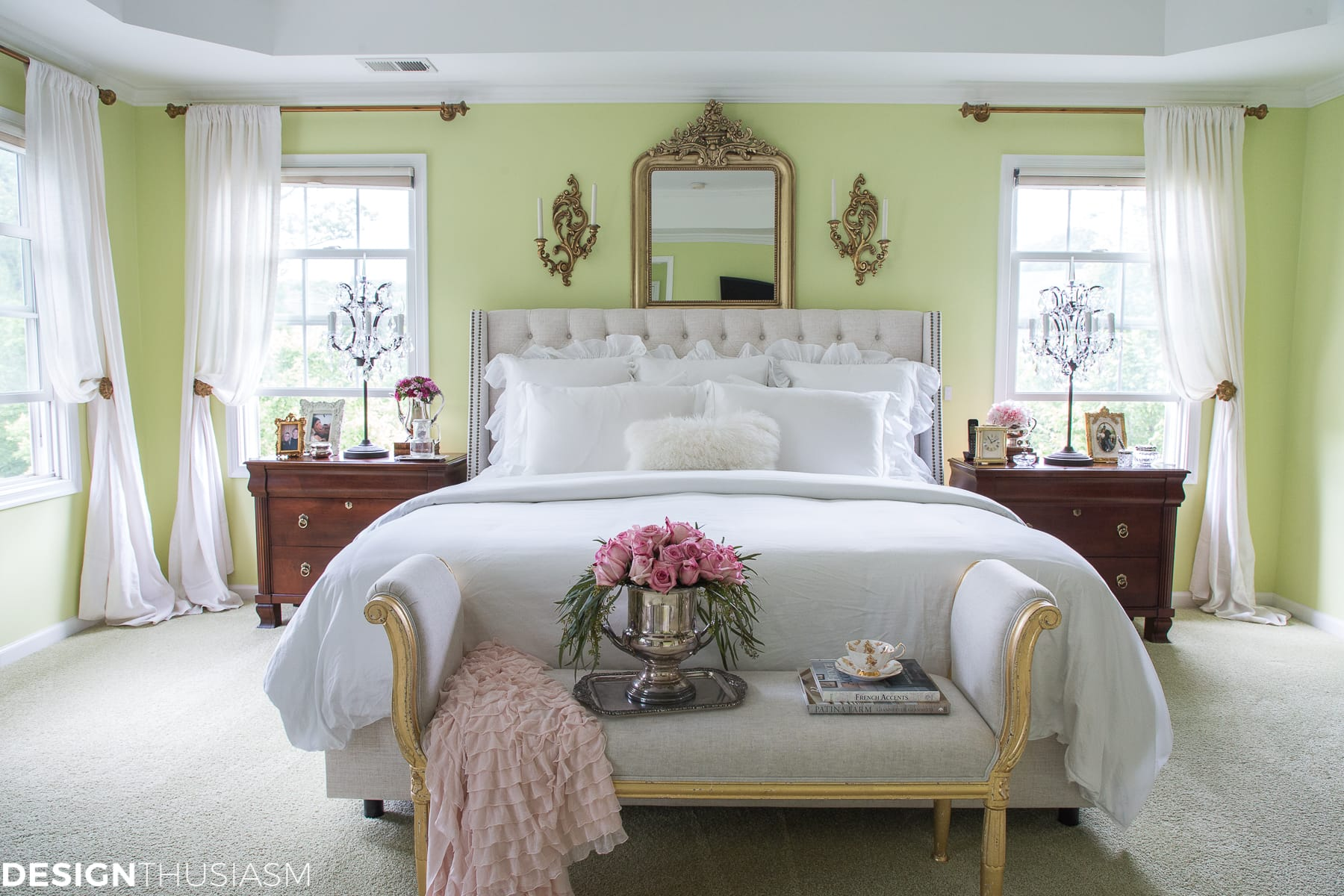 Master Bedroom Ideas: 10 Tips for Creating a Dreamy Updated Retreat - designthusiasm.com