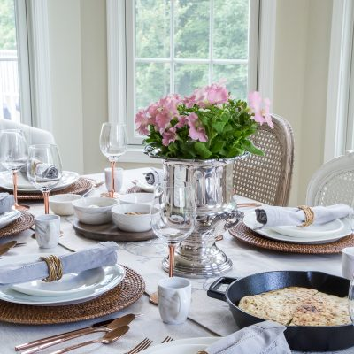 Staycation Ideas: Set an Artisanal Table for a Pampered Vacation at Home
