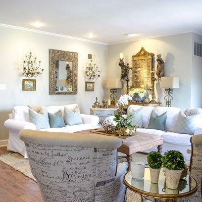 French Country Fridays 21: Savoring the Charm of French Inspired Decor