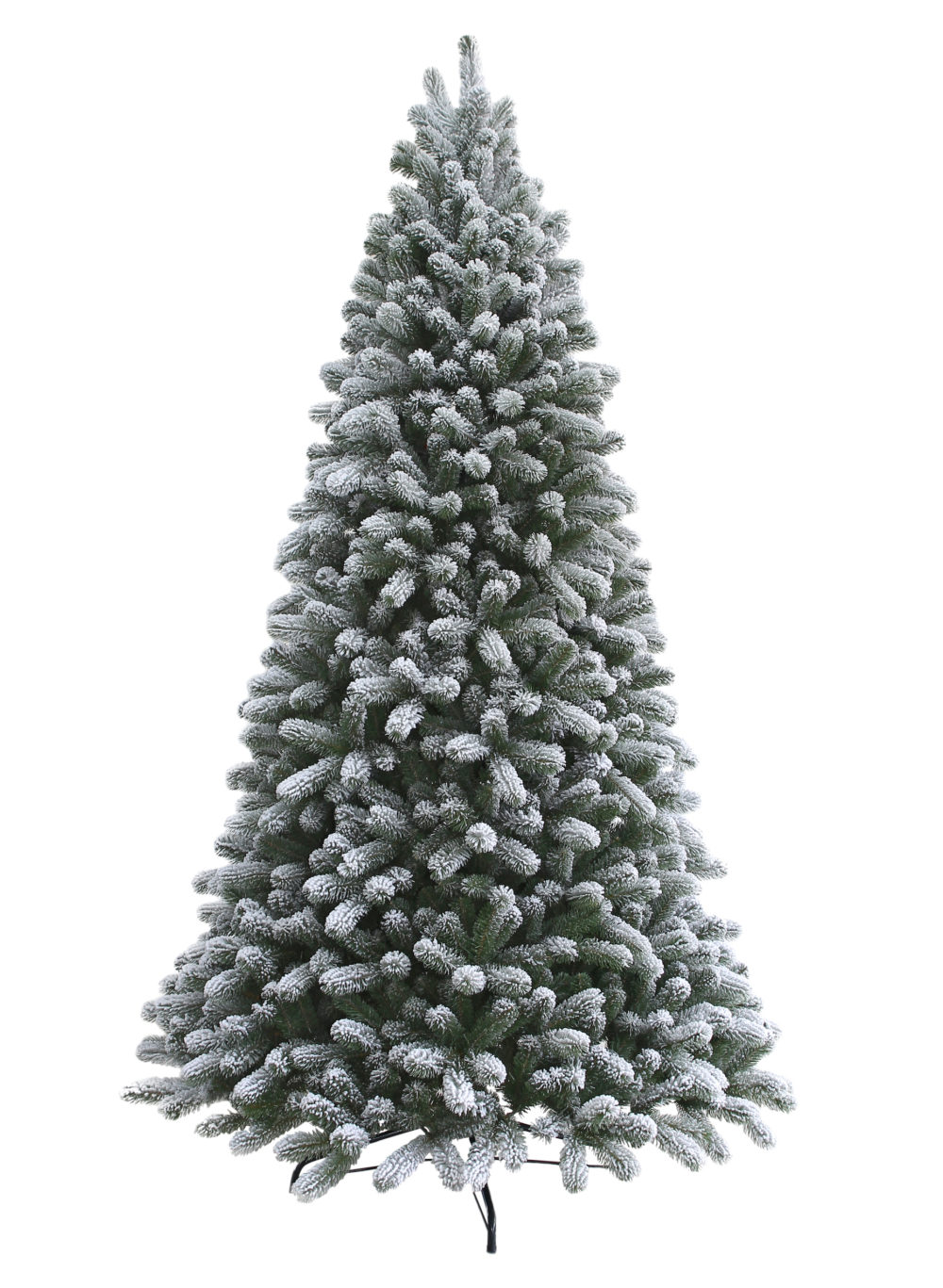 7-5-foot-King-flock-Artificial-Christmas-Tree