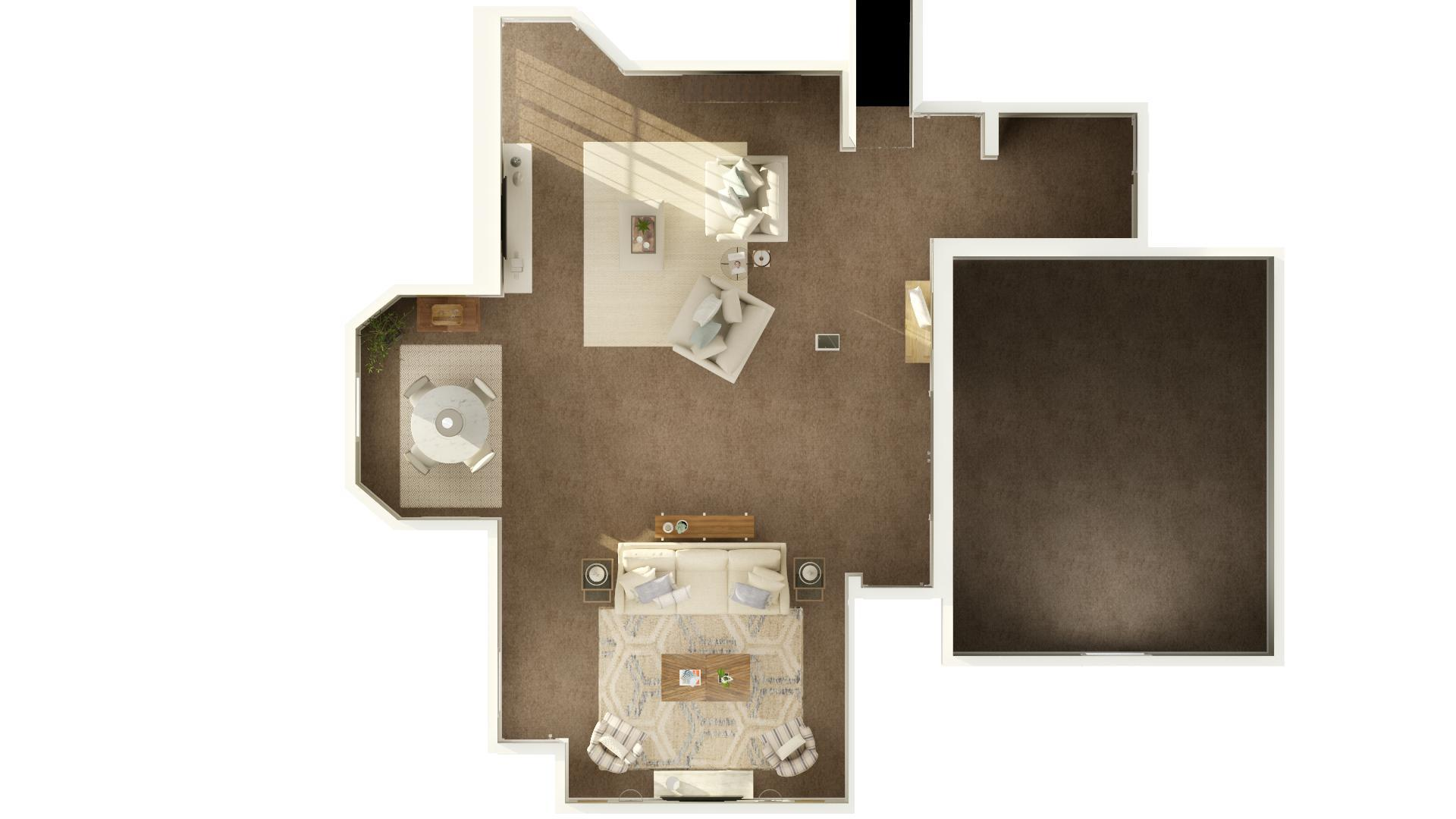 Finished Basement Ideas 3 Amazing Basement Floor Plans For Casual Entertaining