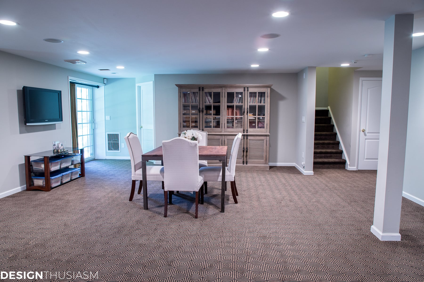 Finished Basement Ideas | 3 Amazing Basement Floor Plans For Casual  Entertaining