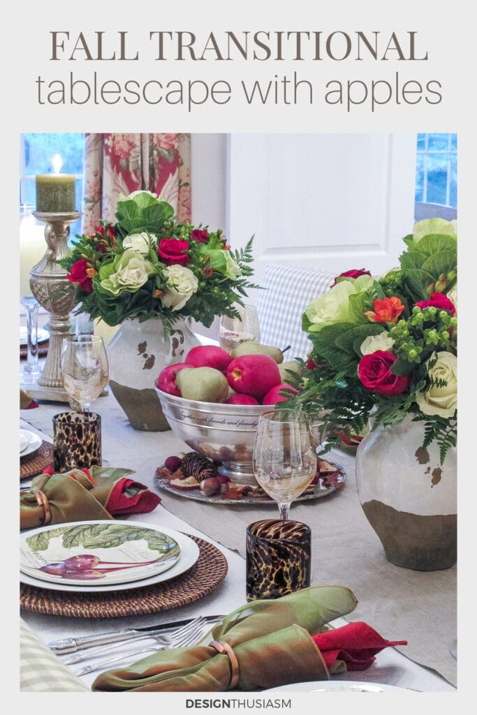 Early Fall Tablescape