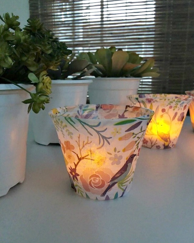 diy-Tissue-paper-tea-lights