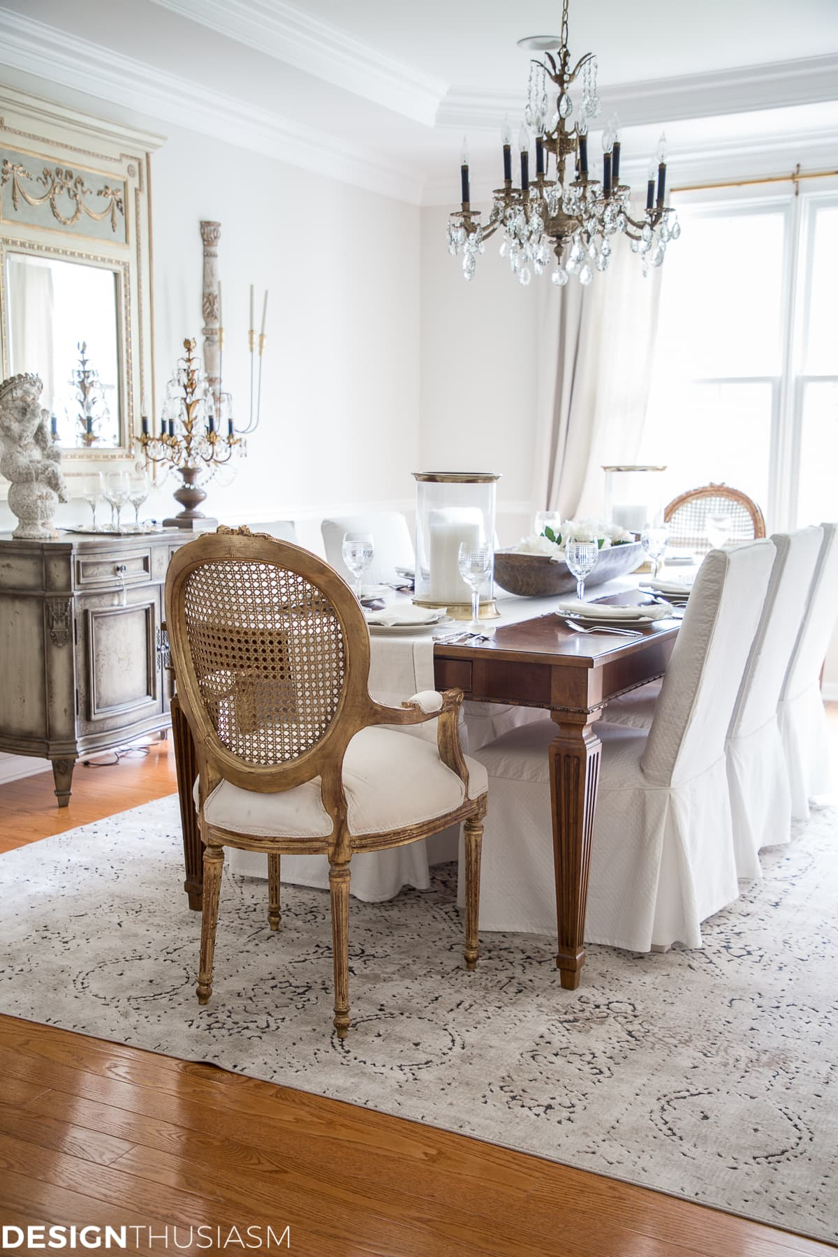 french country dining room From Old School to Modern: The Evolution of a French Country  french country dining room