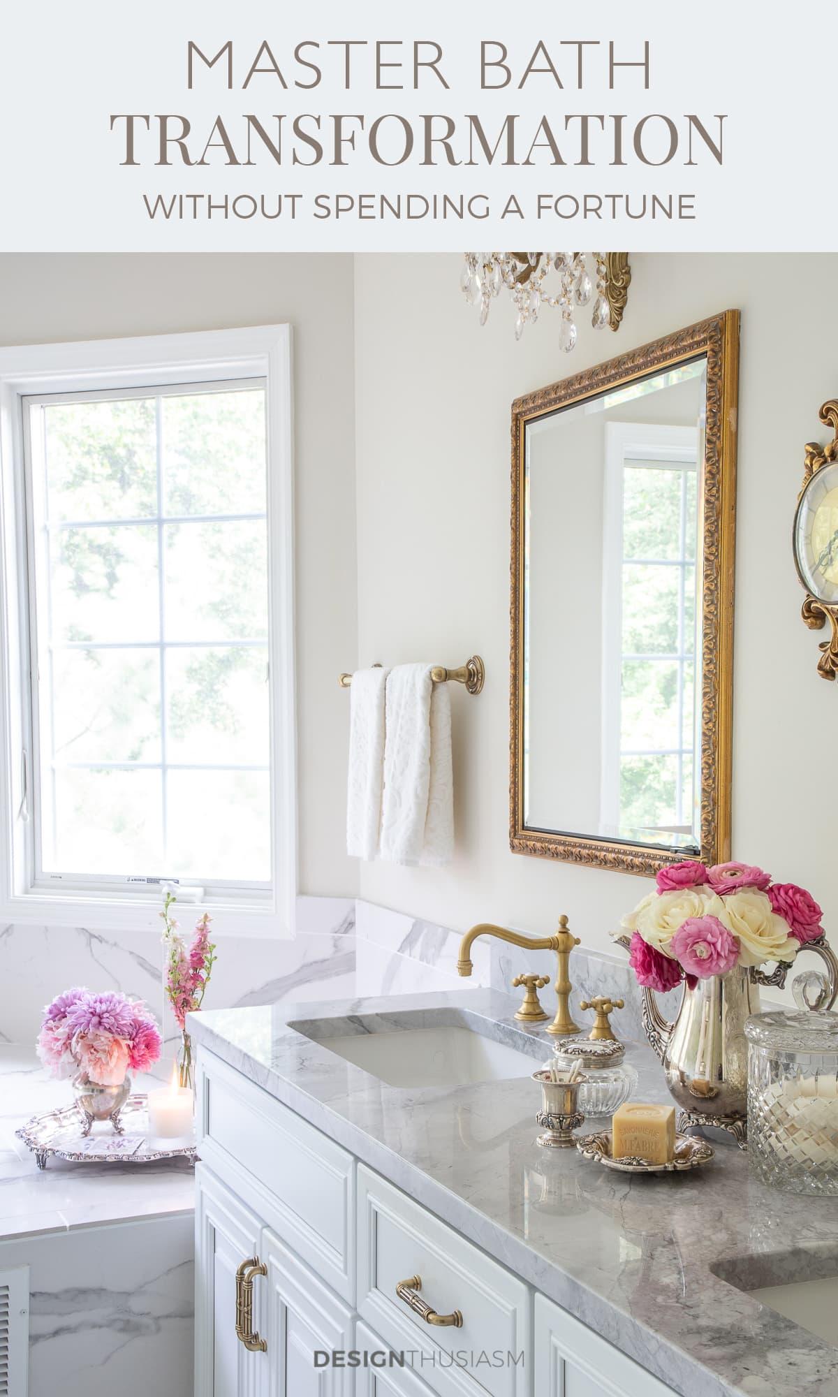 white master bathroom