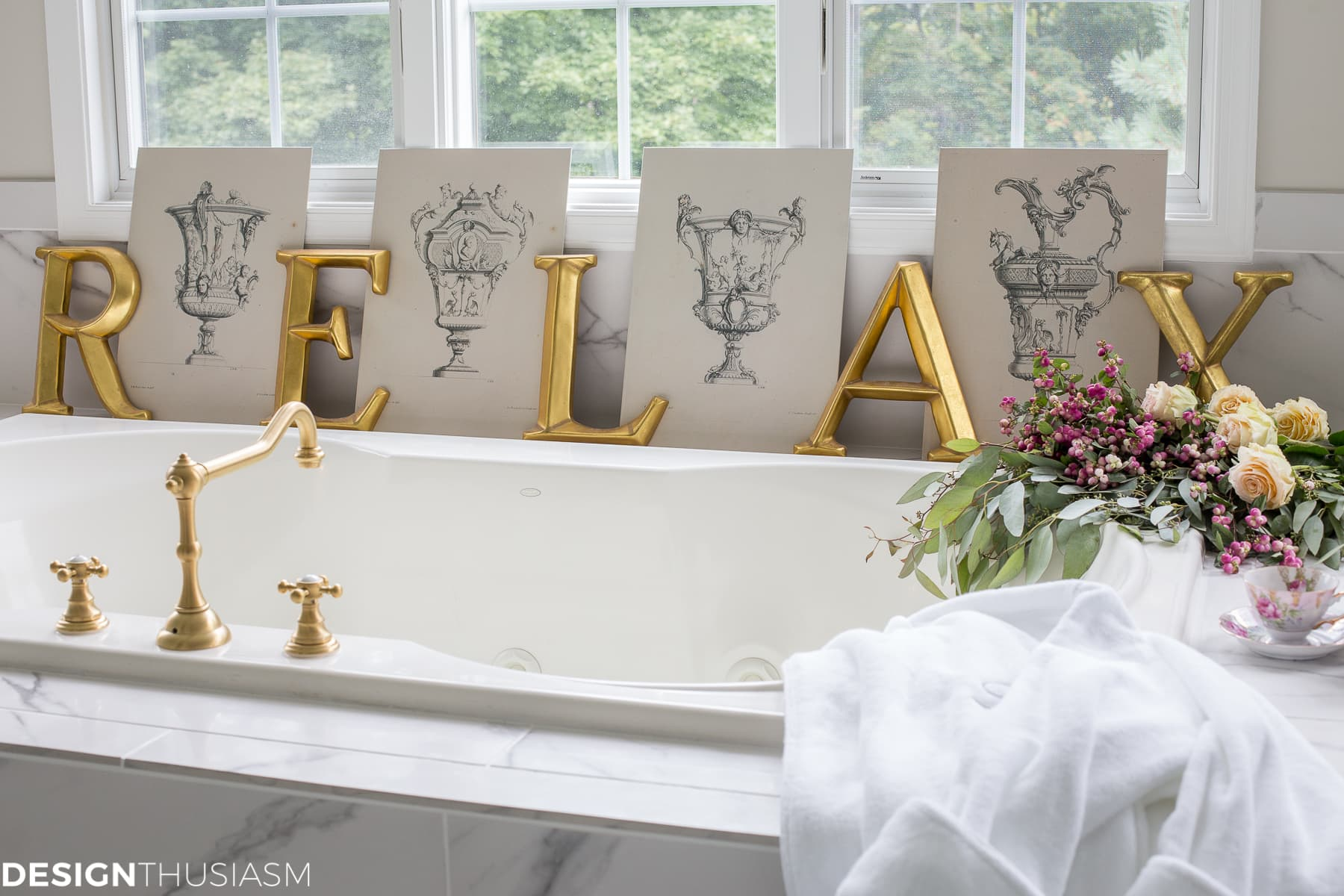 Home Bath Spa: 5 Affordable Ways to Indulge in a Luxury Bath