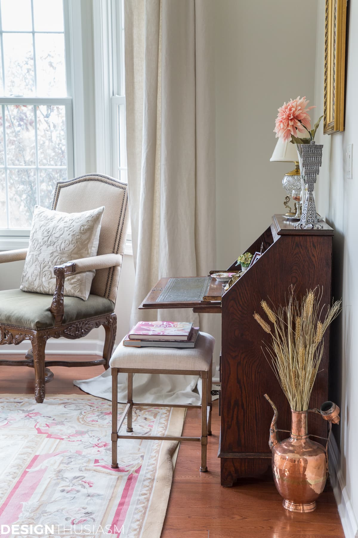 How I Modernized My French Style Living Room with 4 Simple Updates