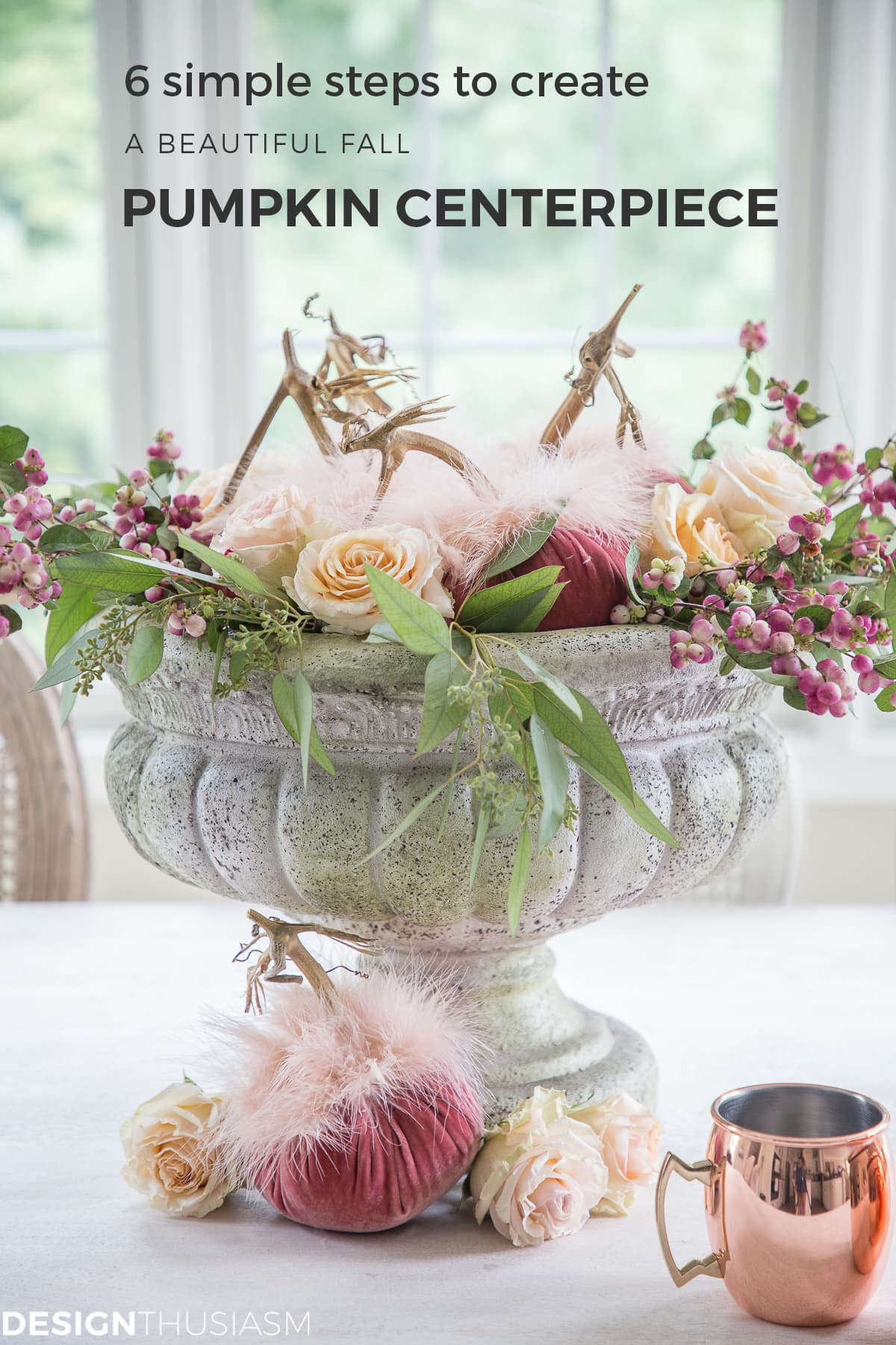 Fall Centerpieces: 6 Easy Steps to Create a Beautiful Pumpkin Centerpiece