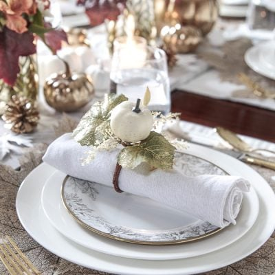 Styled + Set Holiday Entertaining: Thanksgiving Tables Day 3