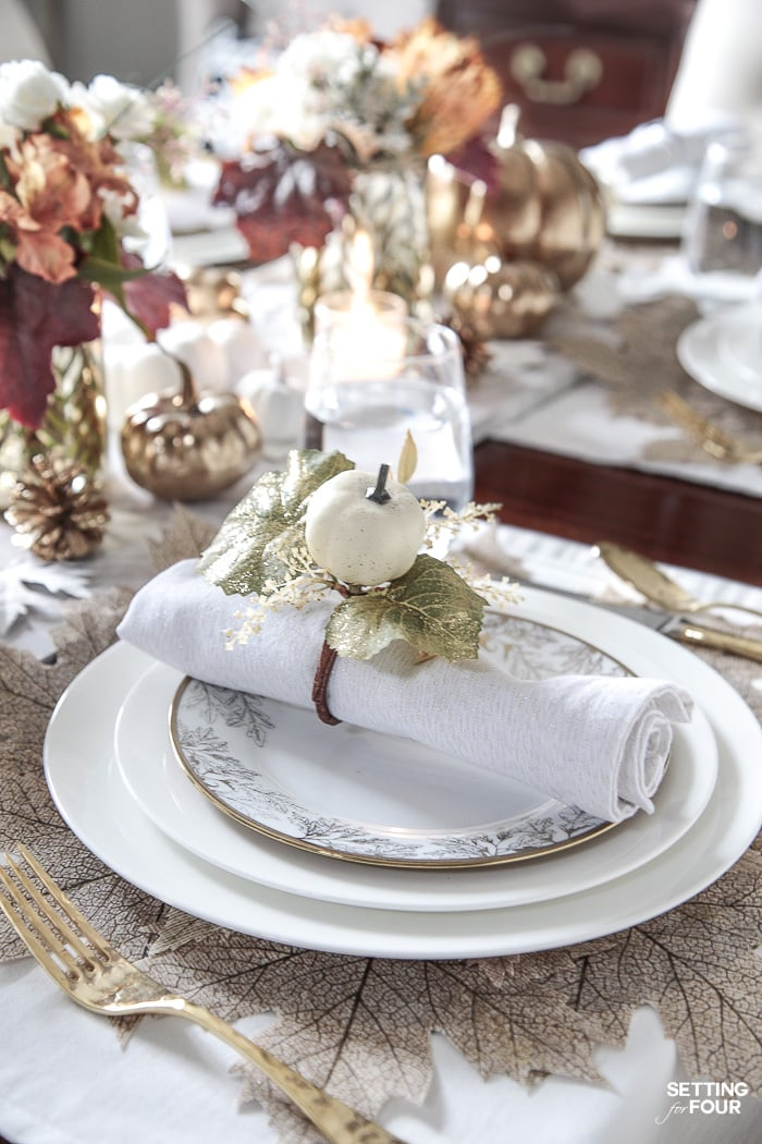 10 Easy Ideas For Setting A Thanksgiving Table Stonegable