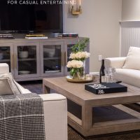 Basement Decorating Ideas: A Gorgeous Space for Casual Entertaining
