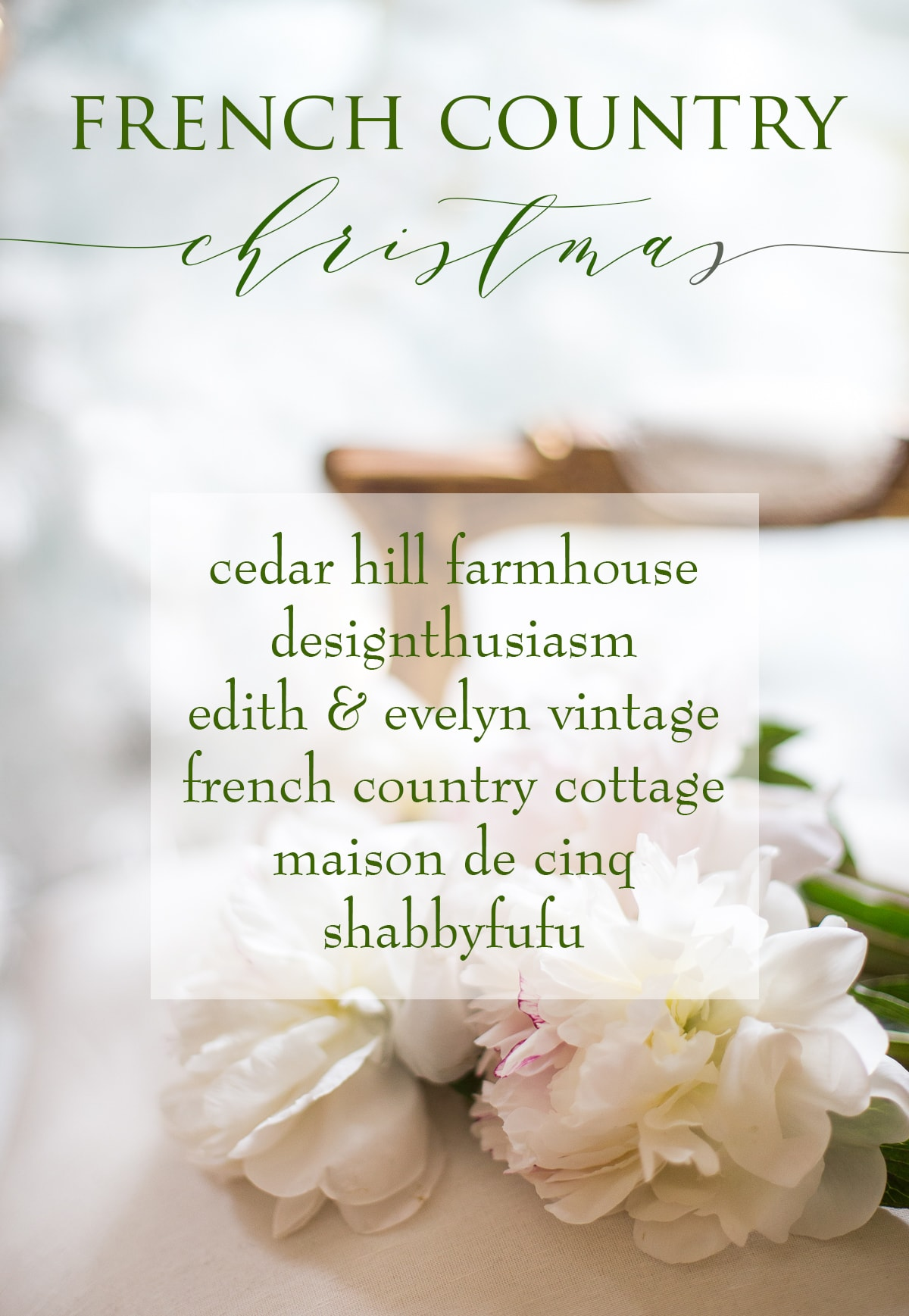 French Country Christmas logo