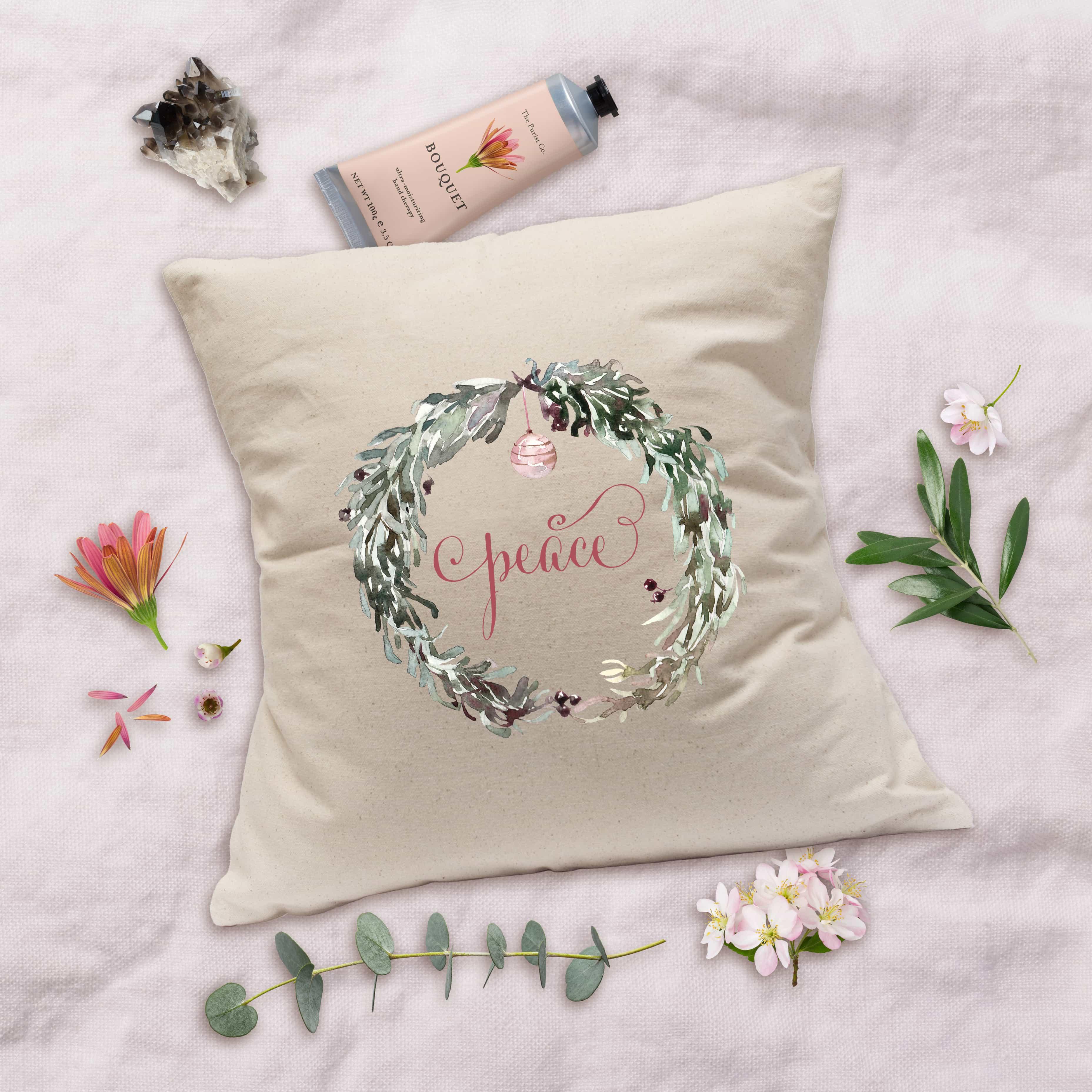 Posh Cottage Shop 18inch Canvas Pillow Cover