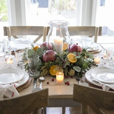 Styled + Set Entertaining: Christmas Holiday Tables Day 3 and 4