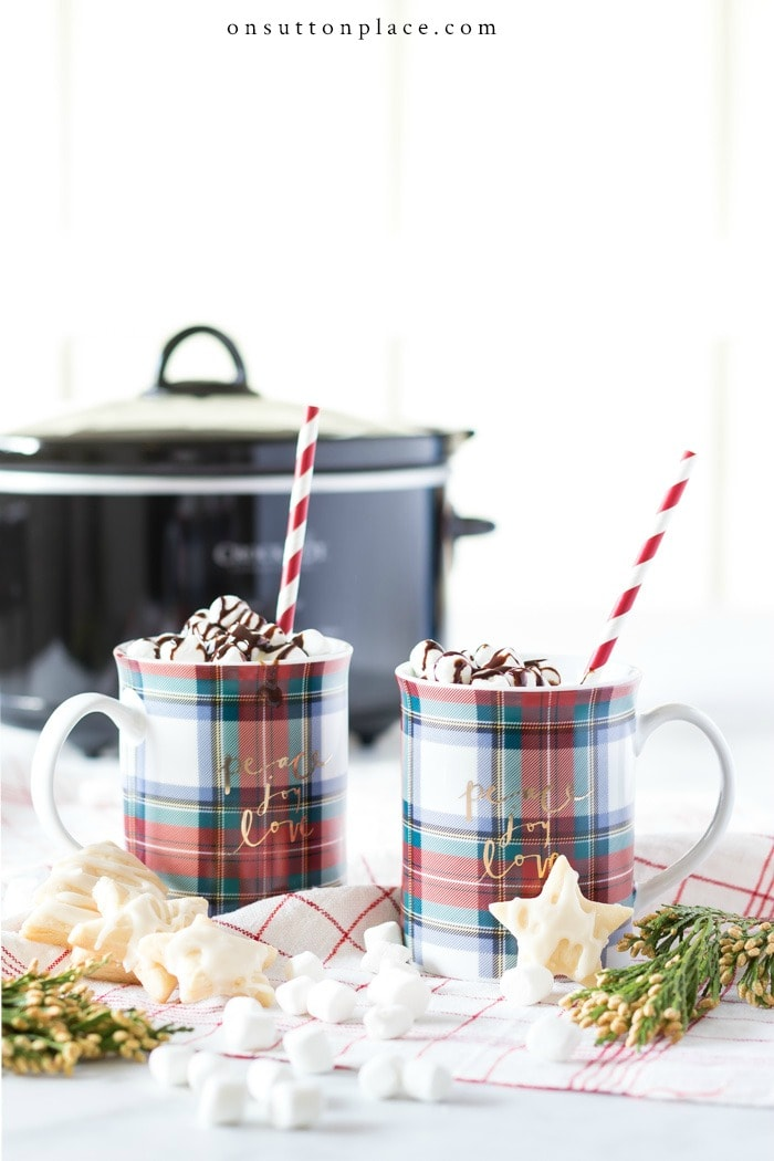 Best Hot Chocolate Recipe from On Sutton Place