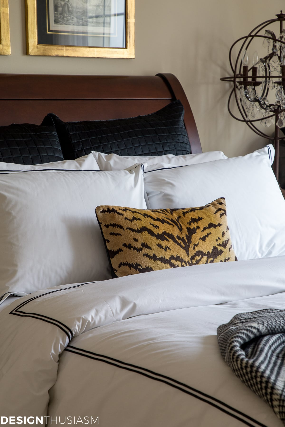 luxury guest room sheets