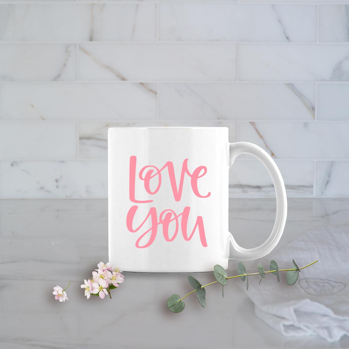 Valentines Day Gifts 11oz Love You mug