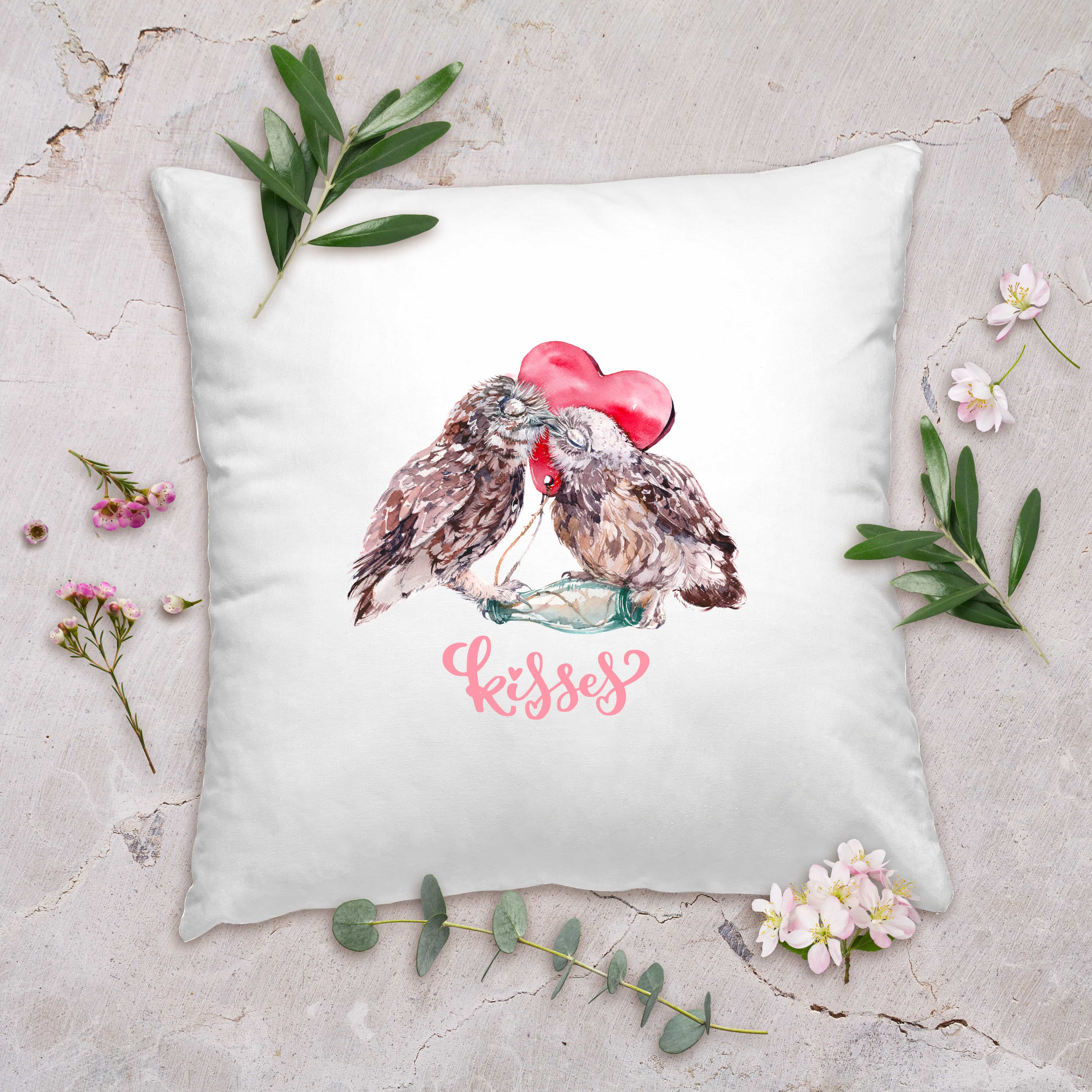 Valentines Day Gifts Kiss Pillow