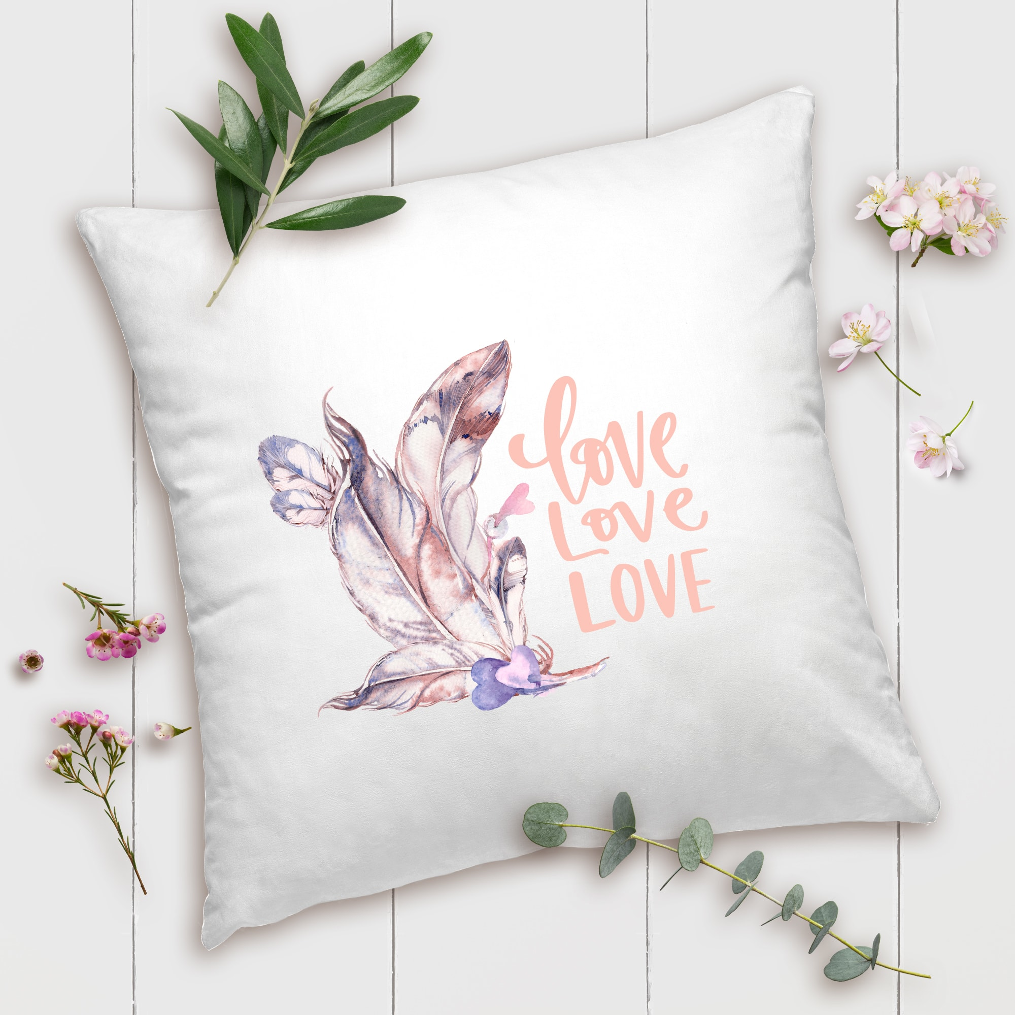 Valentines Day Gifts Love Love Love Pillow