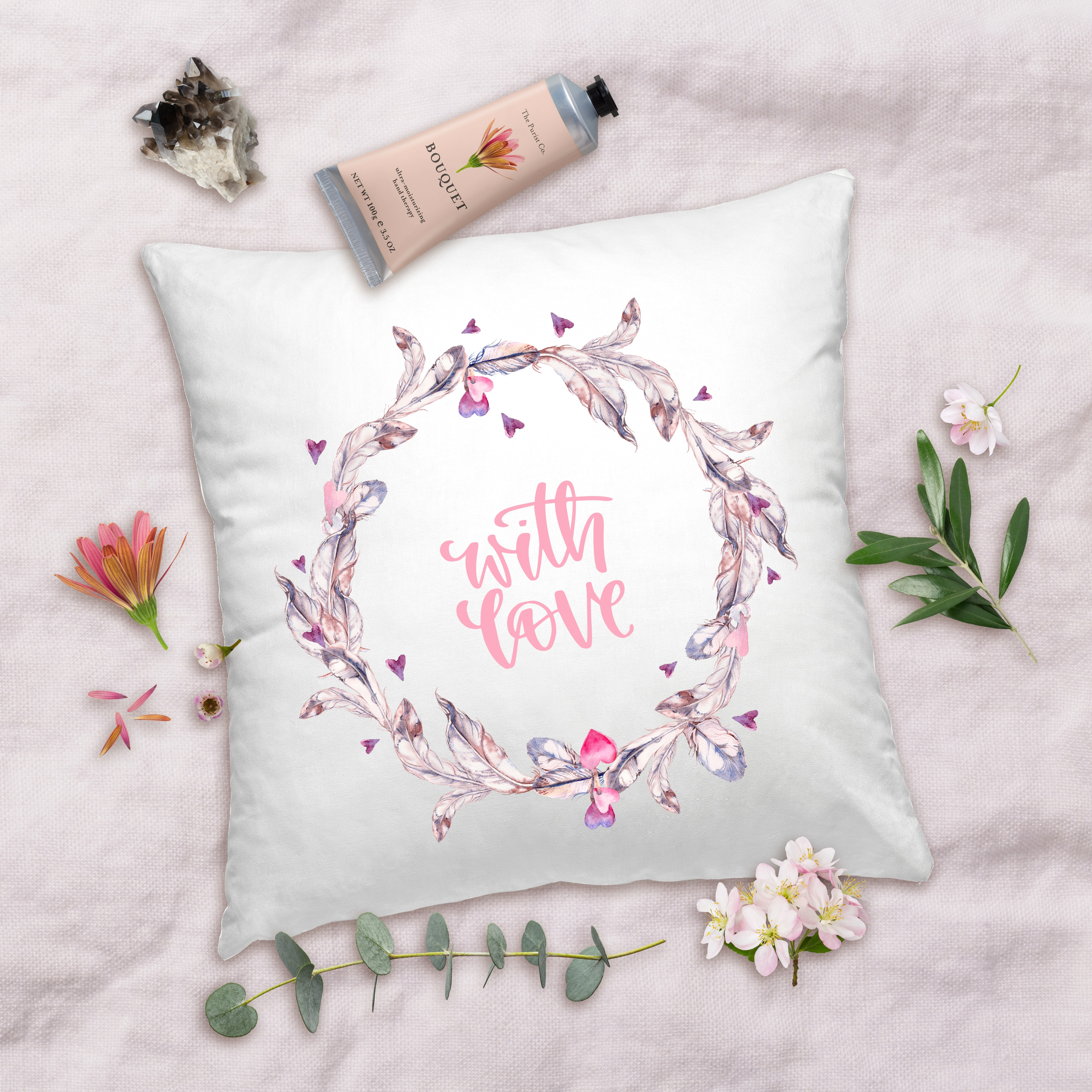 Valentines Day Gifts With Love Pillow