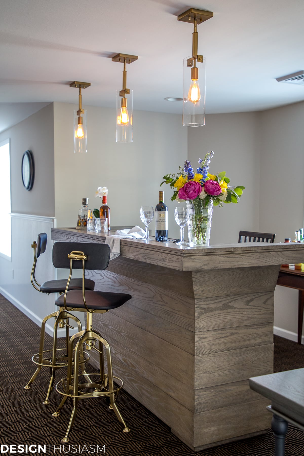 home bar ideas: 6 steps to an elegant basement bar