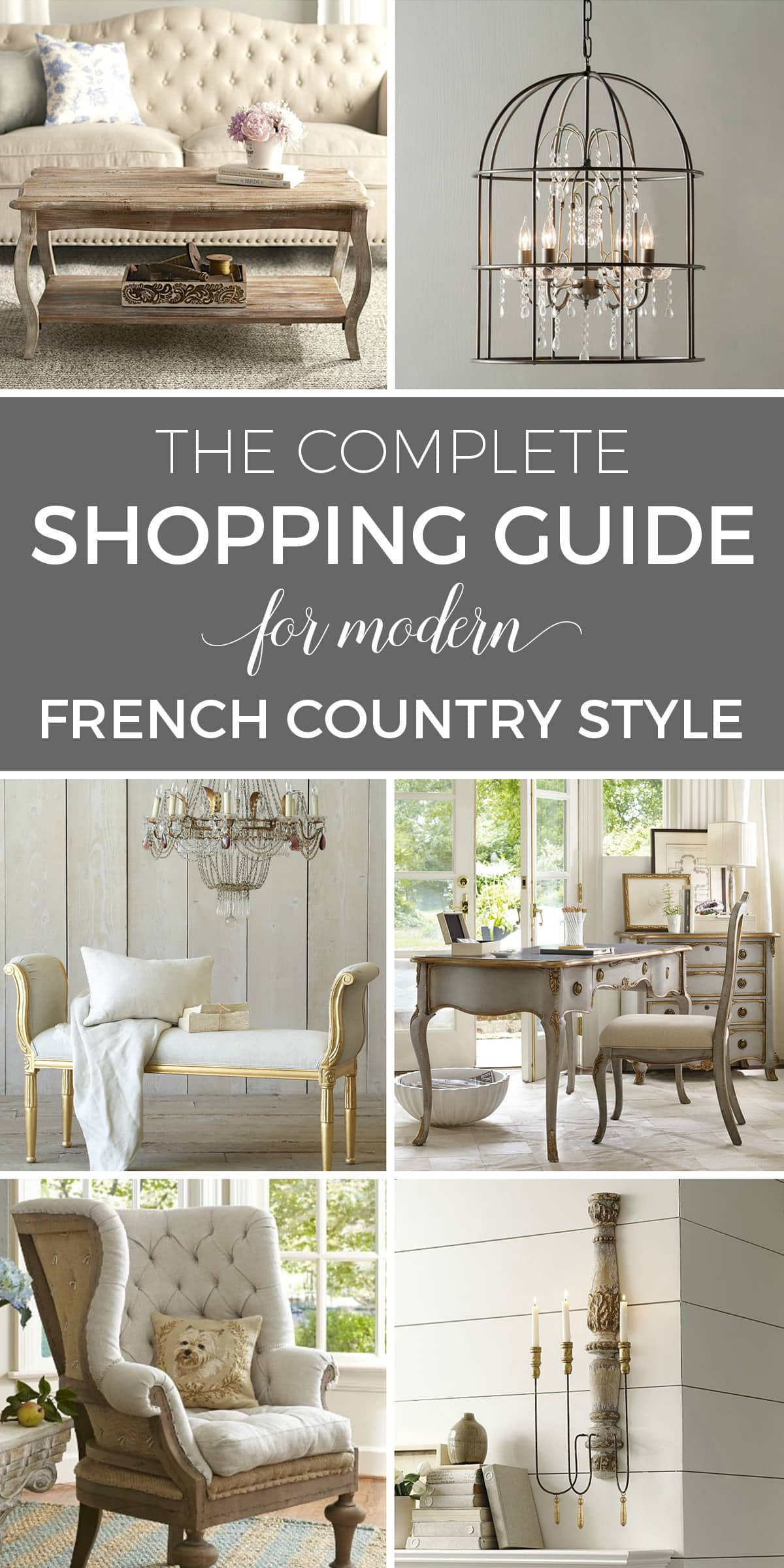 Designthusiasm Shop - Modern French Country Decor