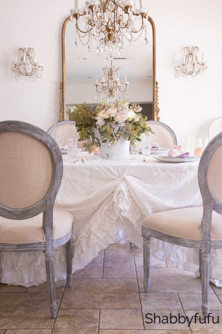 shabby-chic-dining-room