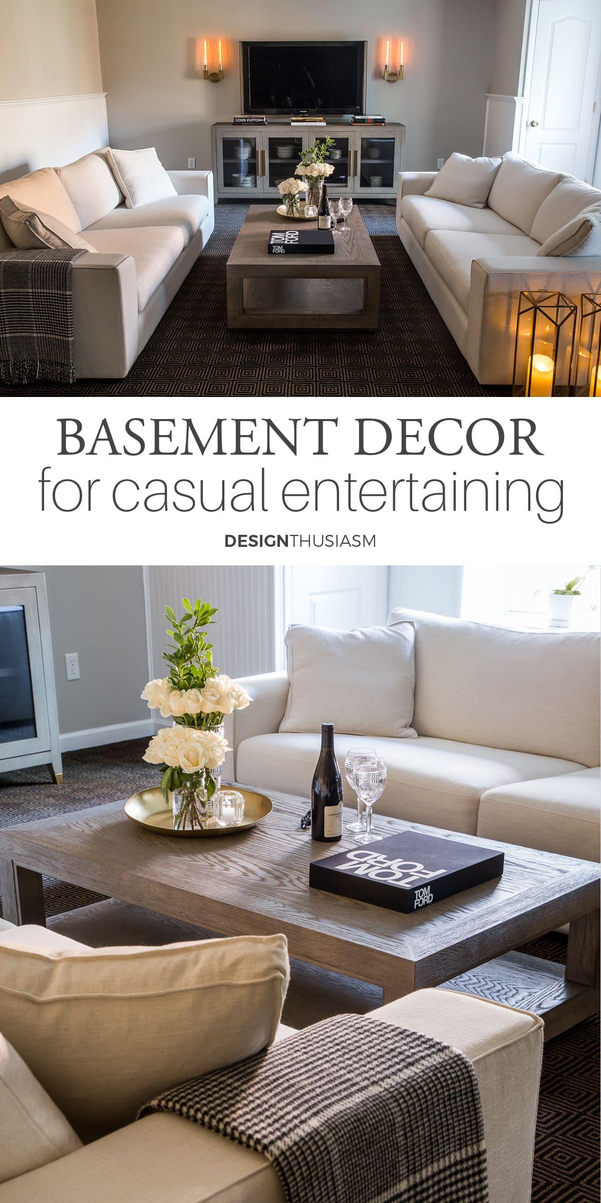 Basement Decor Ideas