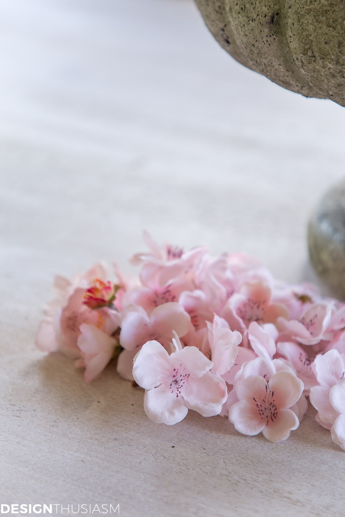cherry blossoms for easy Easter centerpieces