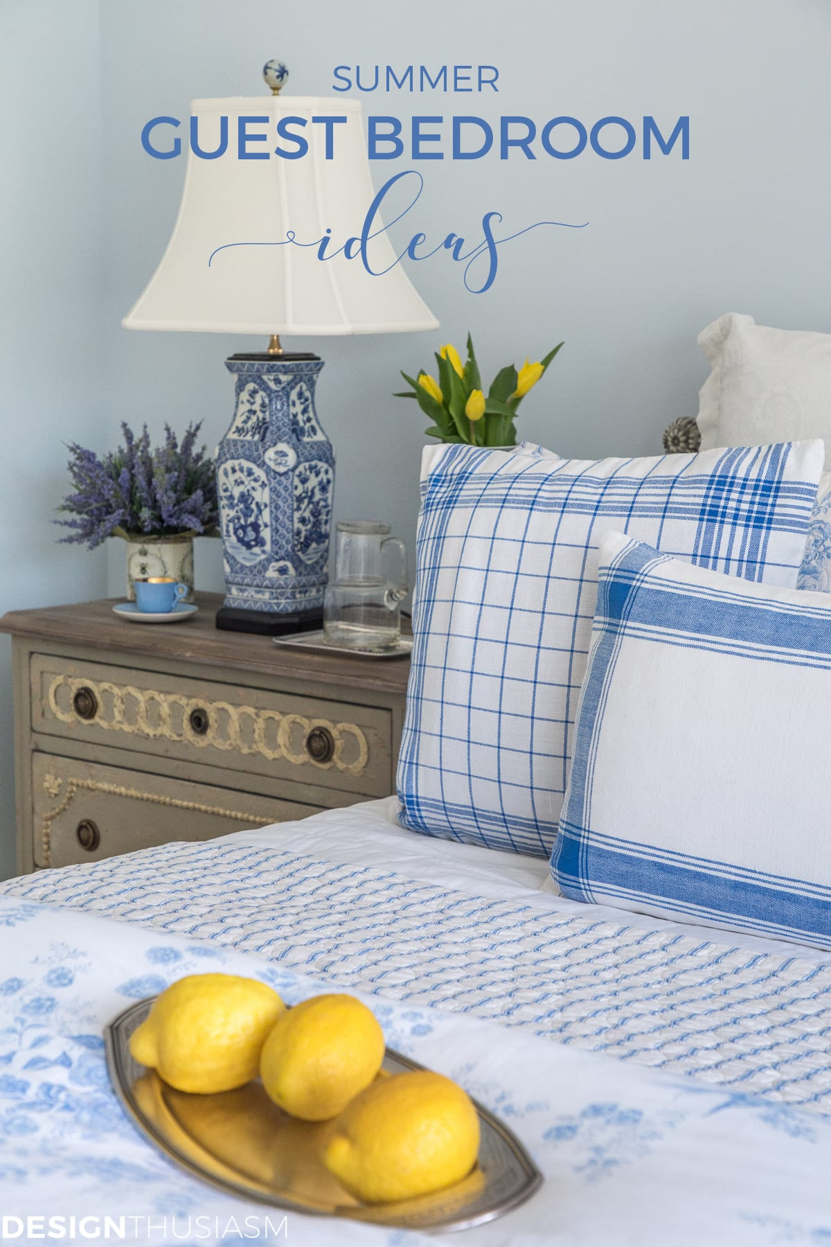 summer guest room ideas